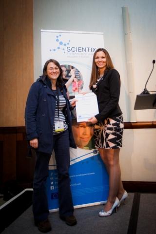 Quantum SpinOff wint Europese prijs Scientix Resources Award